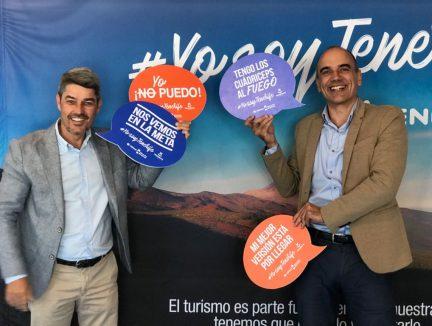 #YosoyTenerife, en la feria Expodeporte Cajamar Tenerife Bluetrail